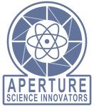 Aperture Science 1950's Logo