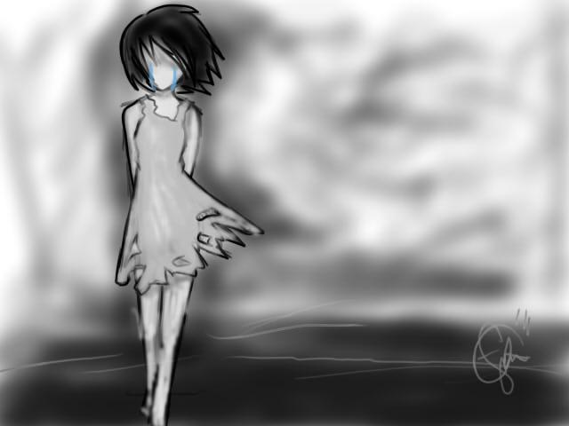 Sadness. by crazeyfwend8