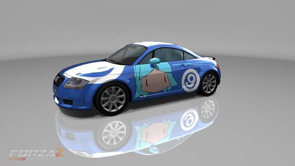 Cirno-Audi TT Forza 2 Touhou by De-JaY