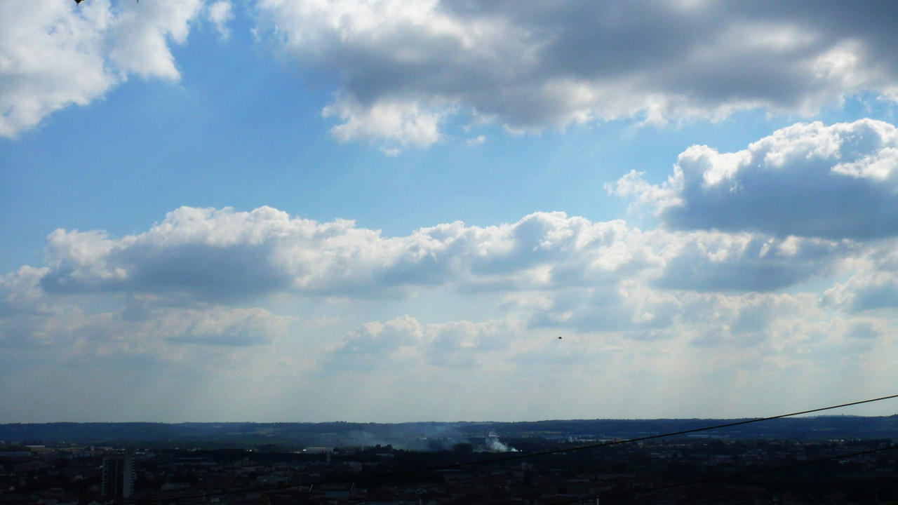 sky and clouds by nicolapin