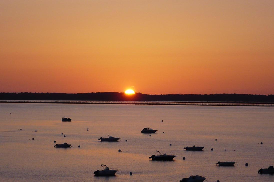 Arcachon Sunset 2 by nicolapin