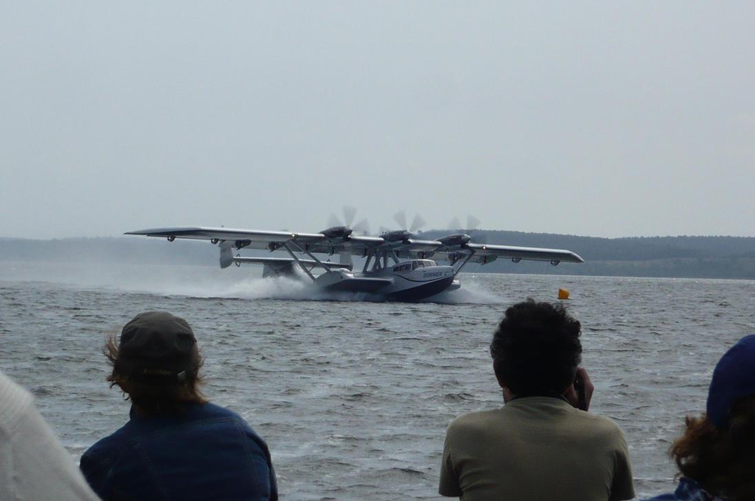 Dornier Do-24 ATT taking off by nicolapin