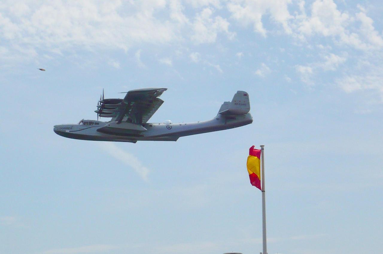 Dornier Do-24 ATT Flying by nicolapin