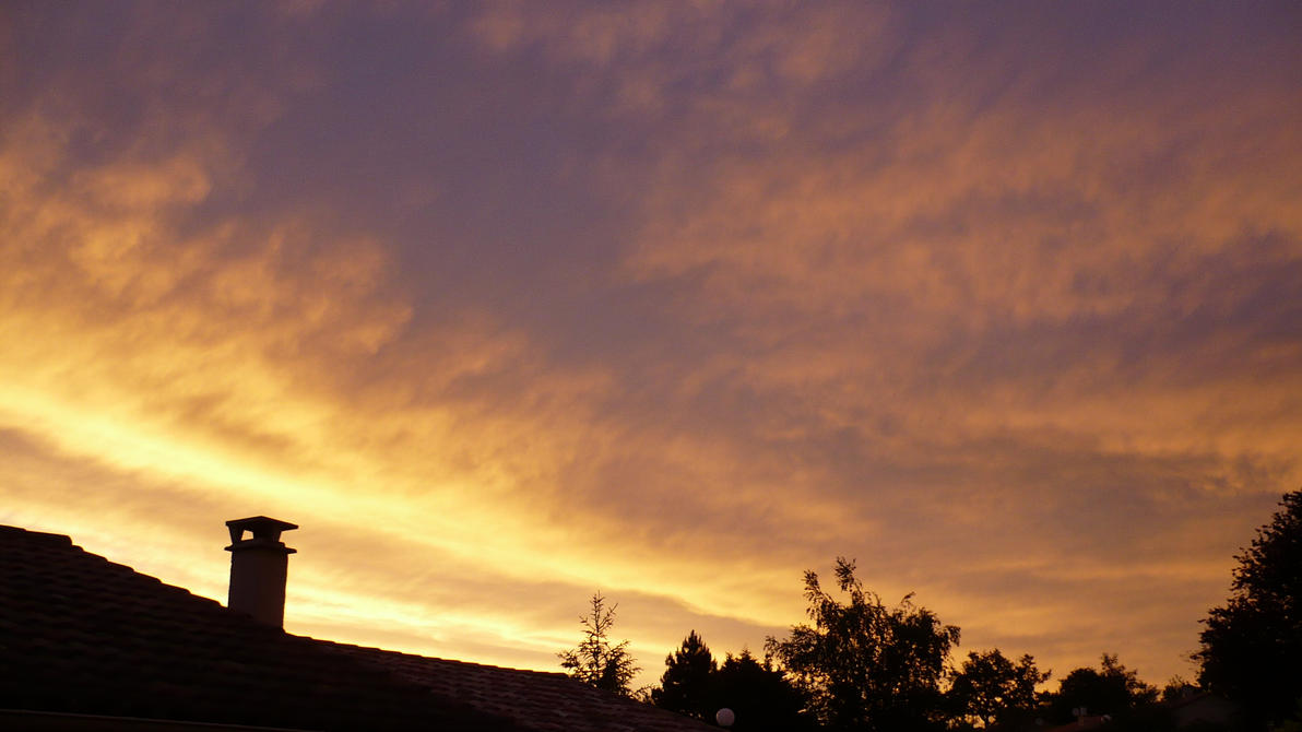 Sky in Fire - part 3 by nicolapin