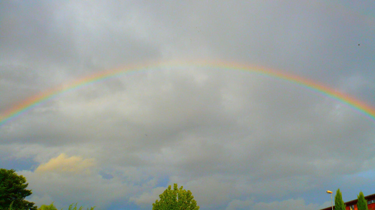 Rainbow in Agen by nicolapin