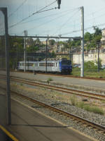 lonely T.E.R in Poitiers by nicolapin
