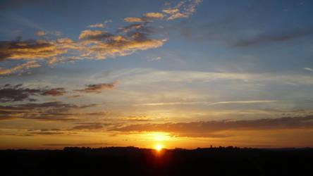 sunset on the fields 2