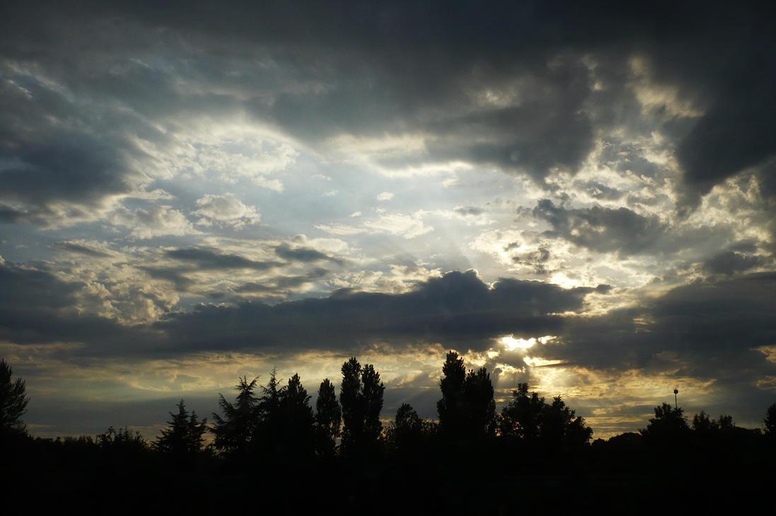 comme un tableau dans le ciel by nicolapin
