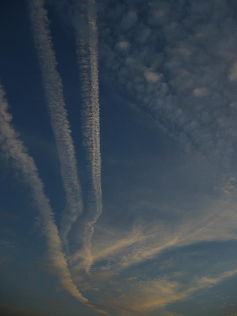 drawings in the sky by nicolapin