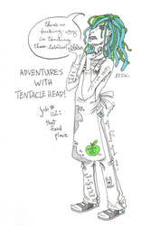 Adventures with Tentacle Head by milo2