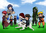 She is mine! - Naruto chibis