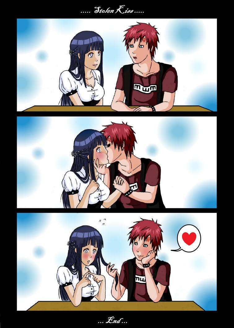 GaaHina (Gaara x Hinata) Gaahina__stolen_kiss__by_pitukel-d4wyb0d