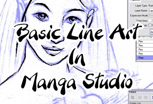 Basic Lines In Art : Basic line art in manga studio by kitttykat on deviantart