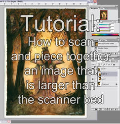 How to Scan Large Art Tutorial by kitttykat