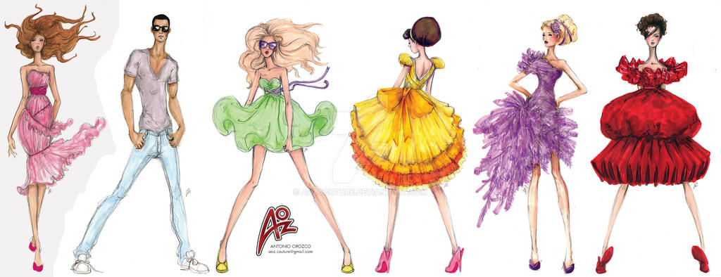 fashionsketches - DeviantArt