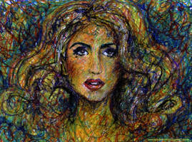 Crayola Gaga by AOZcouture
