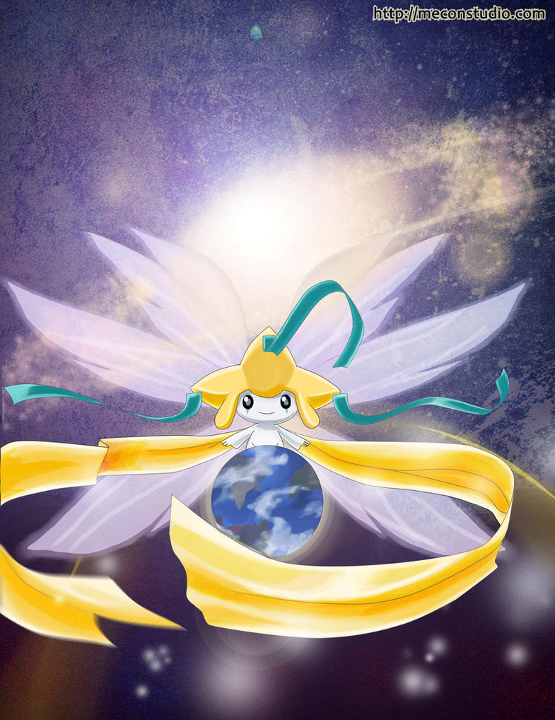 Goddess Jirachi by tiXri