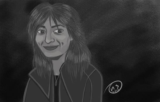 Digital drawing female