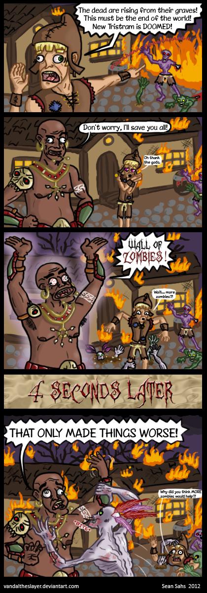 Witch Doctor Logic (Diablo 3) by PapaPicosa