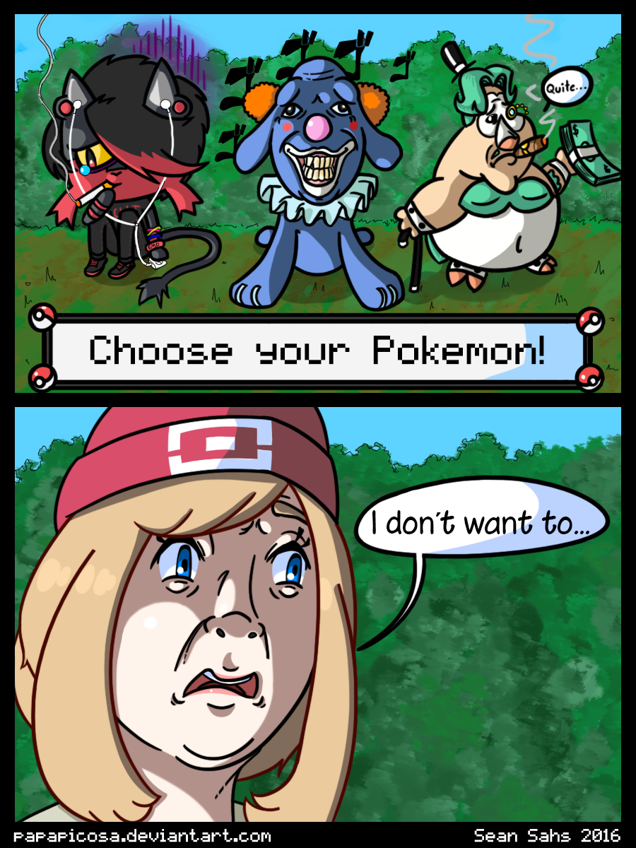 Choose Your Pokemon! by PapaPicosa on DeviantArt