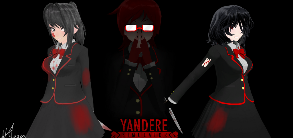 Reader X Yandere Simulator Nemesis – HD Wallpapers