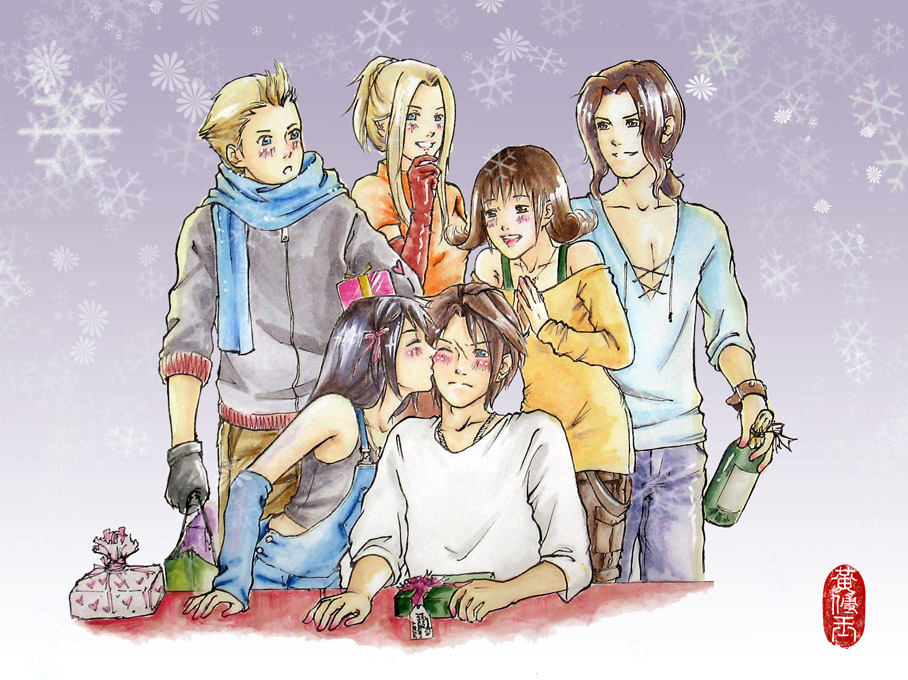 Final Fantasy Christmas.Fantasy Christmas By Squalljade On Deviantart