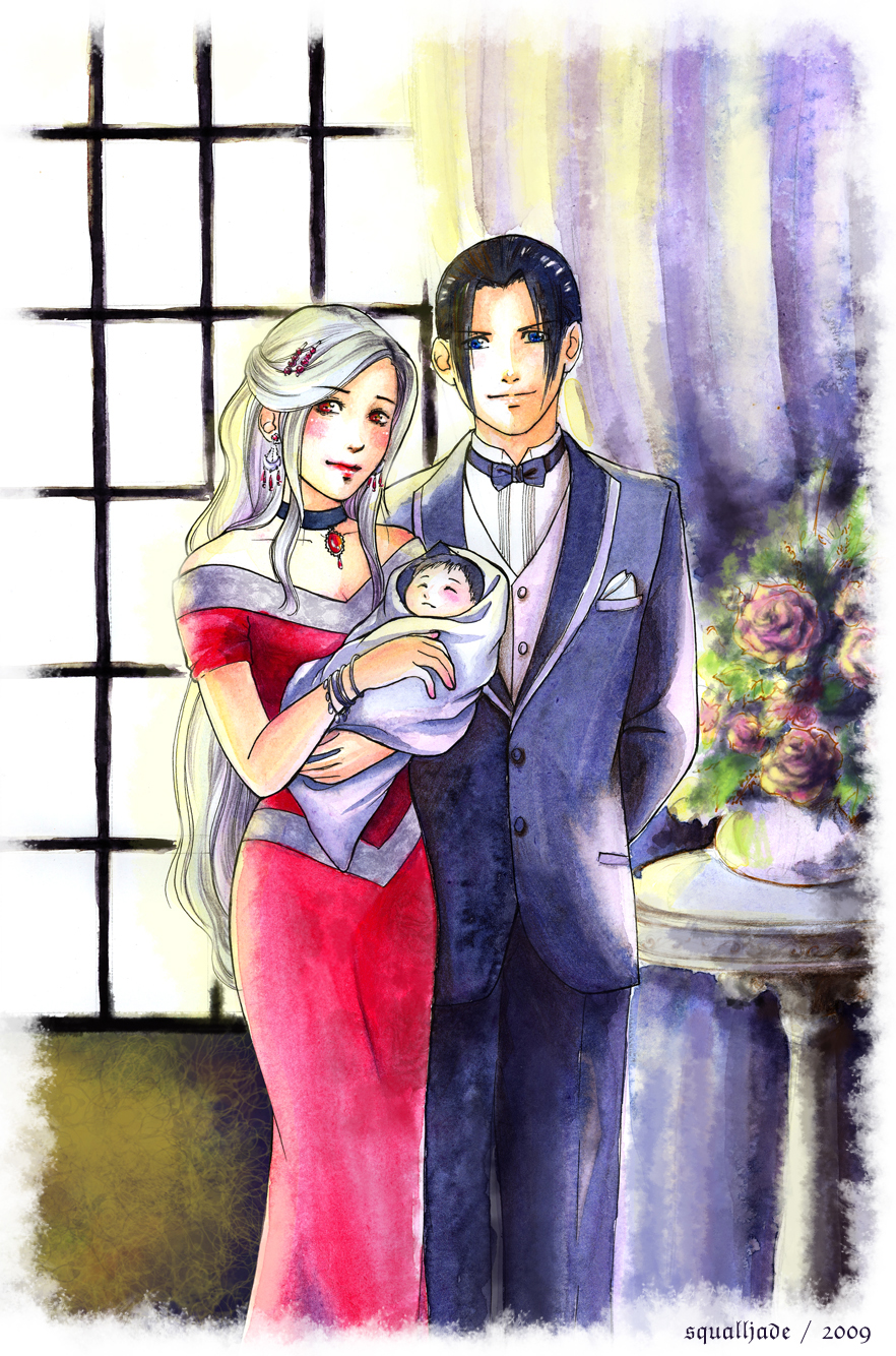 Commission: Family Portrait by squalljade on DeviantArt