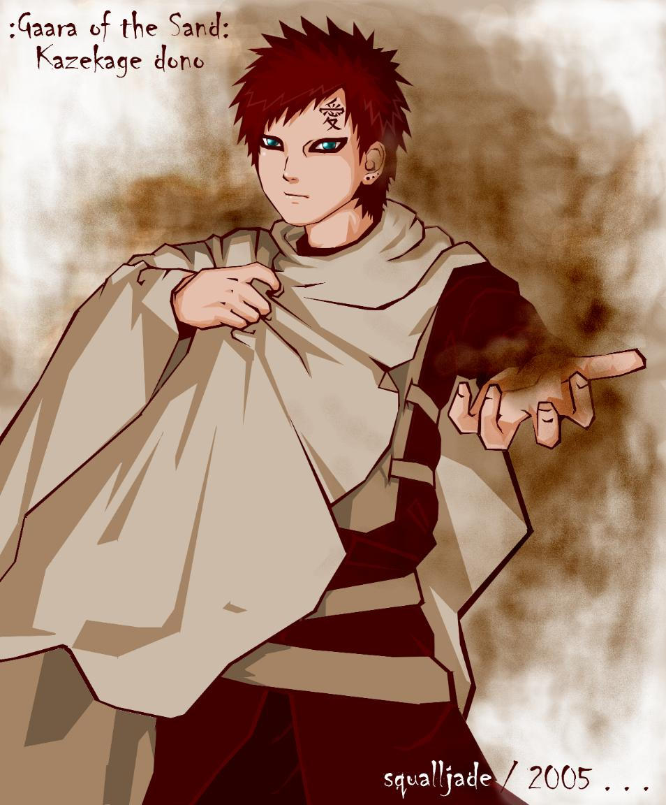 Theme Song And Background Gaara Of The Sand Quotes