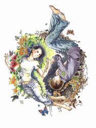 yin and yang by squalljade