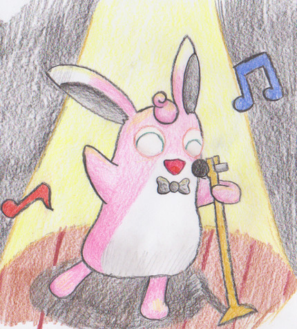 Wigglytuff use sing by LkikiL