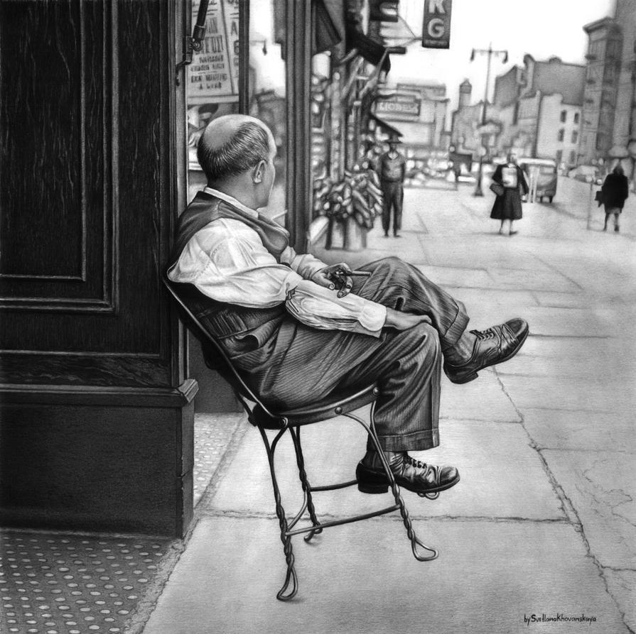 New York 1950s by SvetlanaKhovanskaya