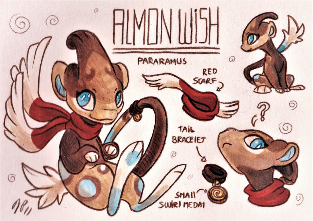 Almon Wish Ref. Sheet [Commission] by Baraayas