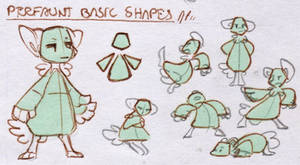 Bara's Guide to Griffians: PF Basic Shapes by Baraayas