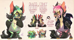 The Twins Ref. Sheet [CM] by Baraayas