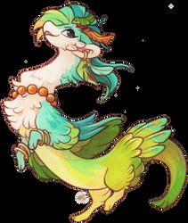 #284 Terradragon - Tropical Feathers [CLOSED]