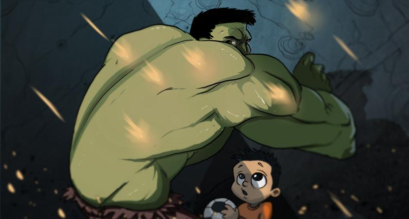 Hulk by cury
