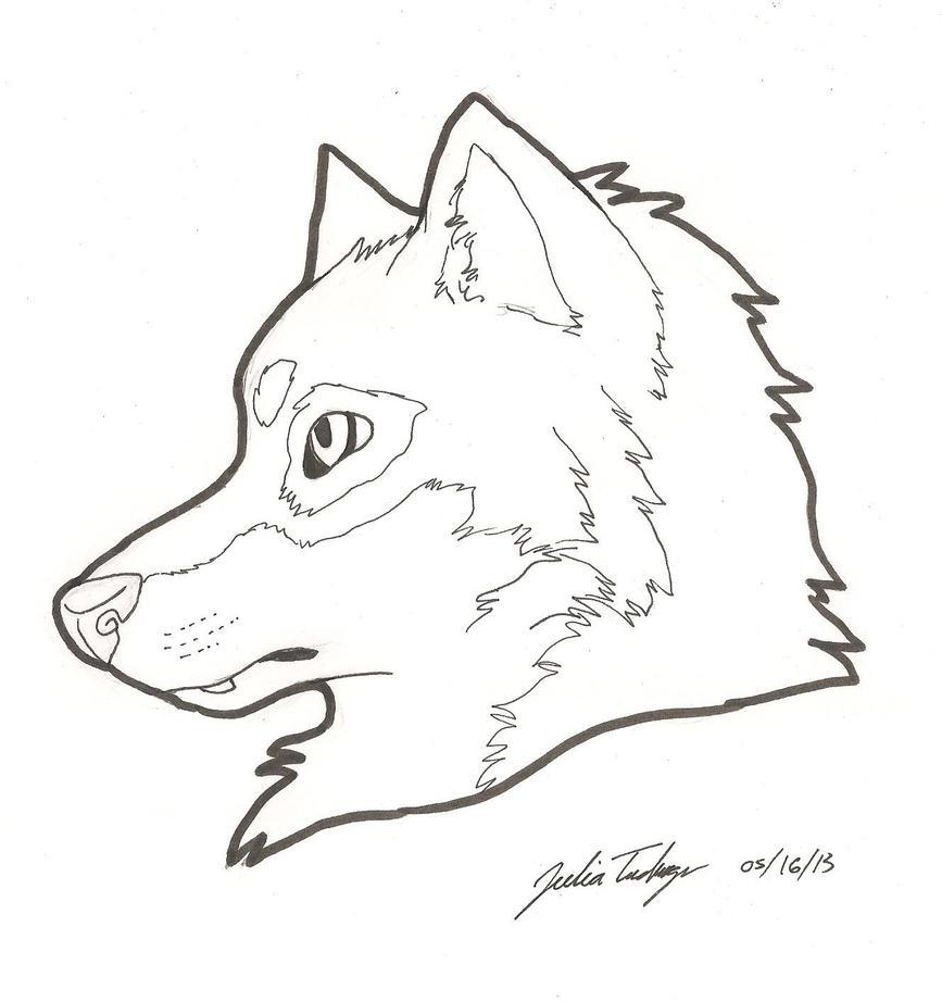 Wolf Head by JetStar-Black on DeviantArt
