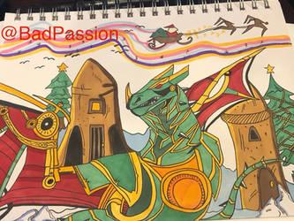 Legendary Invoker Fanart - War Dragons