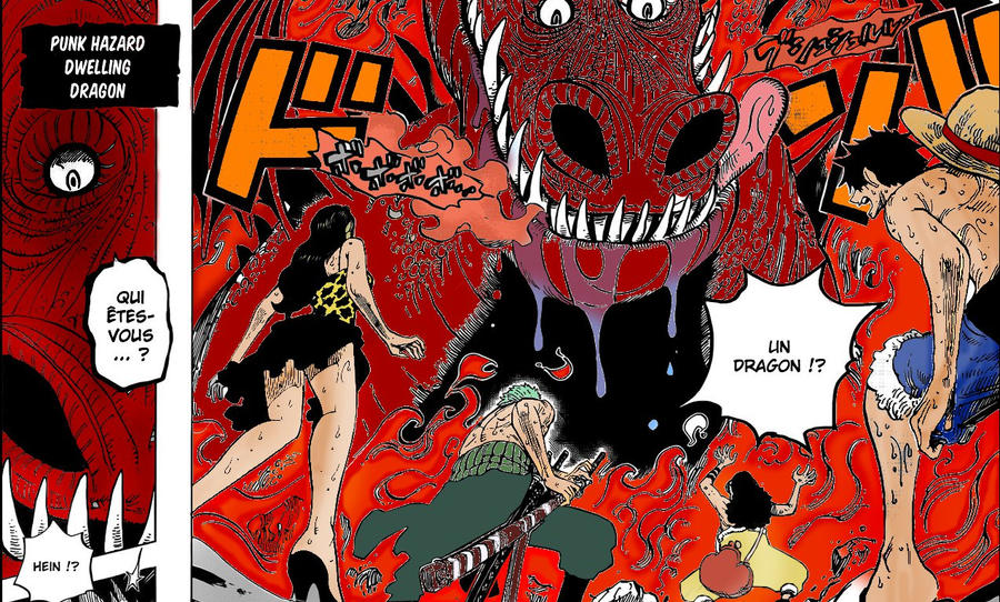 One Piece - Colo - 655 - Dragon by Mugiwara-King on DeviantArt