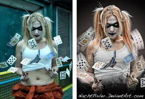 Jaymasee's Harley Quinn - 'di' by nachtpixler