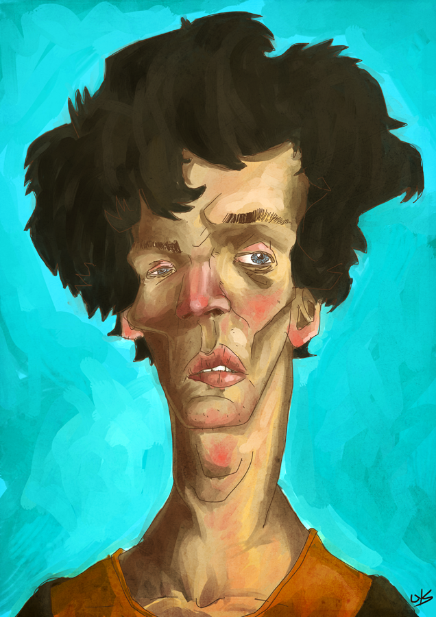 caricature atempt by lysgaard