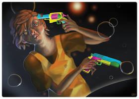 Kids With Guns by lysgaard