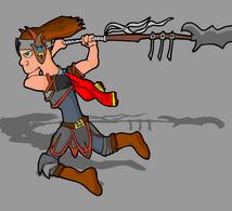 gladiator by lysgaard