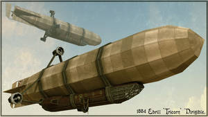 1884 Ebrill Tricorn Airship