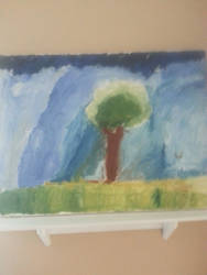Tree oil painting by JDX629