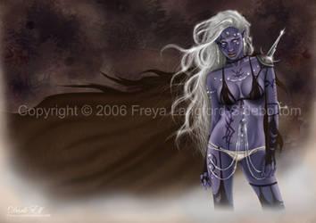 Dark Elf - for Rain by freyals