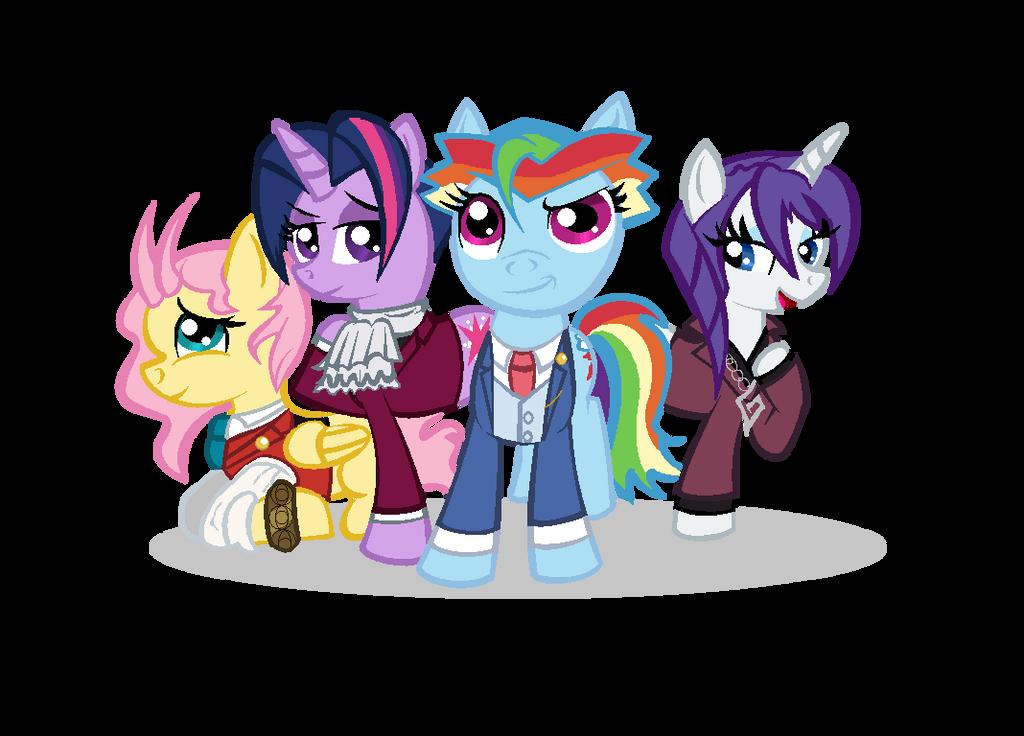 My Littlest Attorneys by XRainbowIceCreamX