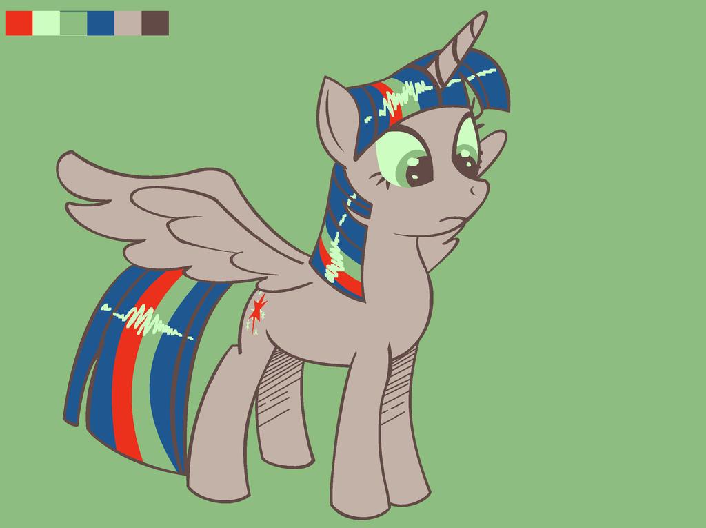 MLP FIM: Random Color Palette Challenge:Twilight by XRainbowIceCreamX