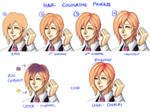 How I Color Gradient Hair