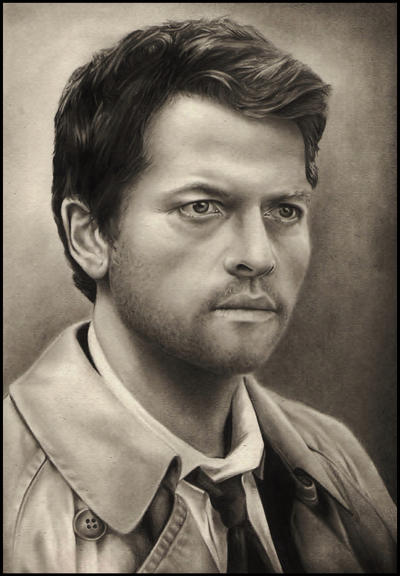 Castiel - Technically, it's an overcoat by Sparkypoo